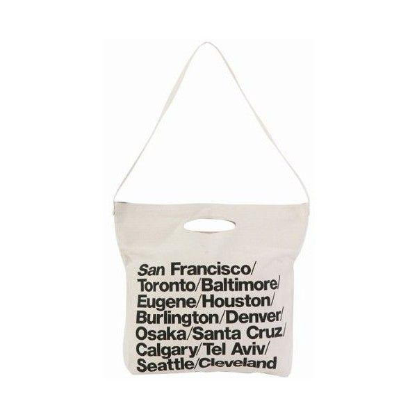 (アメリカンアパレル) American Apparel ブルデニム ウォーバン シティバッグ トート Cities Bag ナチュラル ❤ liked on Polyvore featuring bags, handbags, american apparel, city bag and american apparel bag