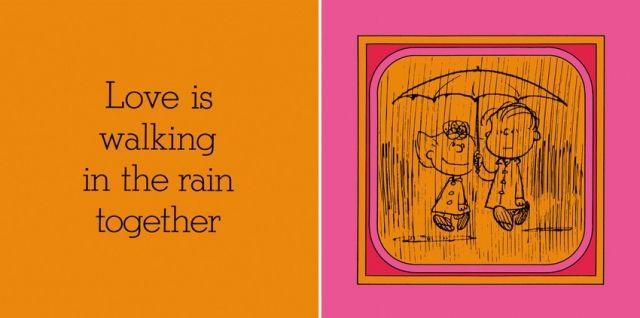 雨の中を歩くこと/愛とは、雨の中を一緒に歩くことだ。
