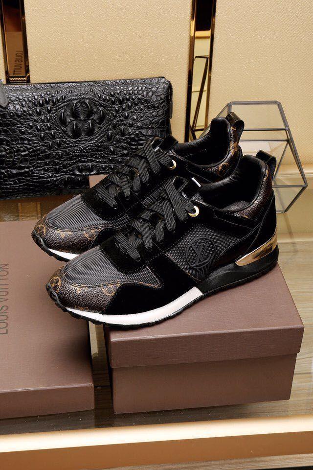 Replica Louis Vuitton Sneakers Men Run Away Leather Size 38 45 Id