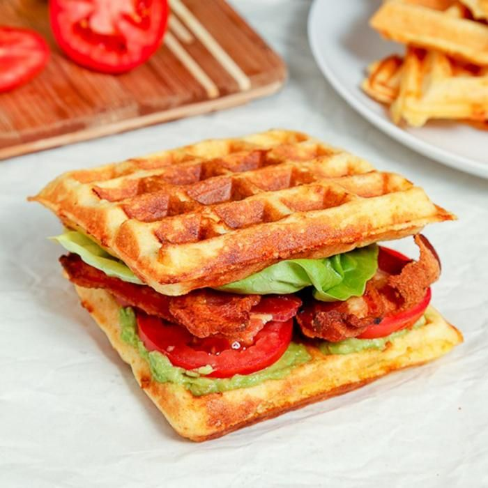 BLT Wafflewich to 'Baconize' Brunch Time