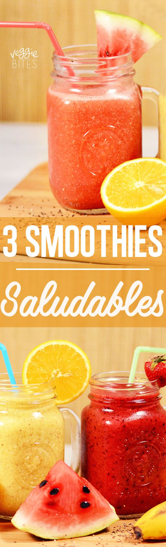3 Smoothies Saludables