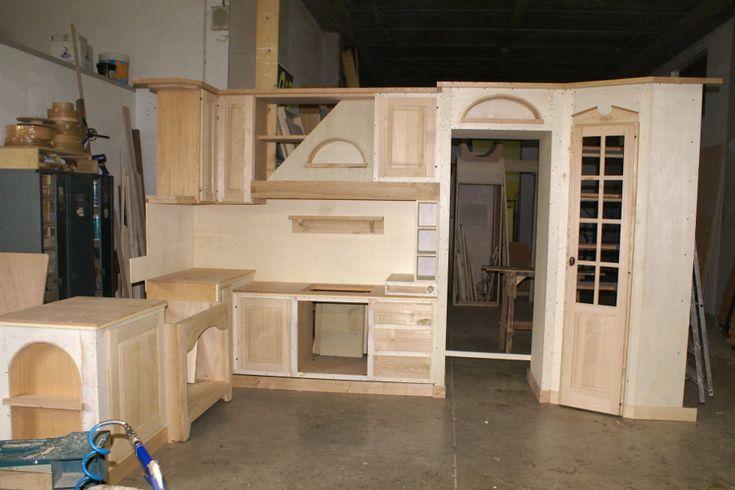 Cucina in finta muratura (PP-CFM028) | Cucina in muratura | Pinterest