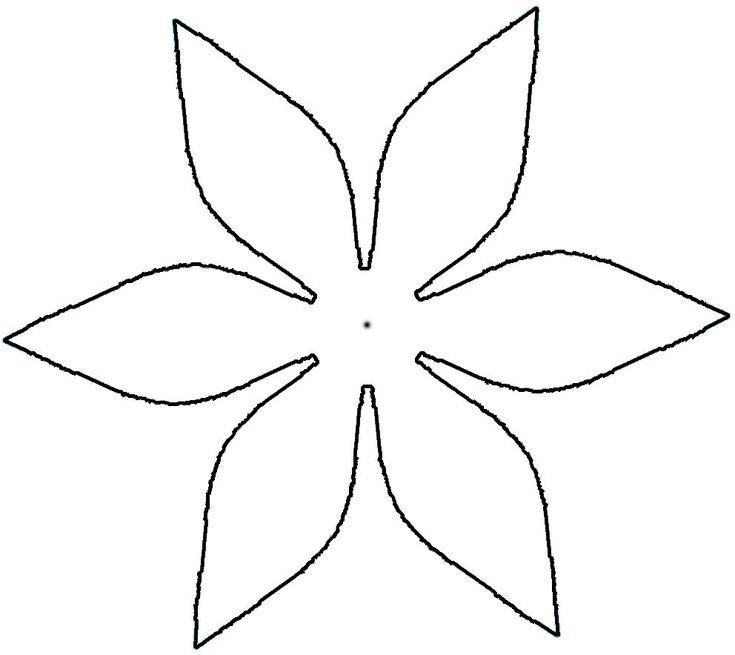102 Best 3-D Flower Petal Patterns Images On Pinterest   Fabric