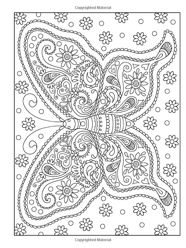 Creative Haven PAISLEY PATTERNS Coloring Book: Deluxe Edition 4 books in 1 (Creative Haven Coloring Books): Dover, Marty Noble, Kelly A. Baker, Robin J. Baker: 9780486779331: Amazon.com: Books