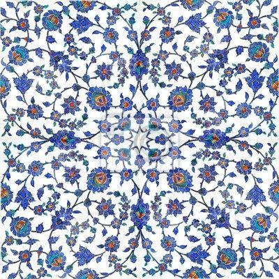 Carta da parati Antiche piastrelle turche