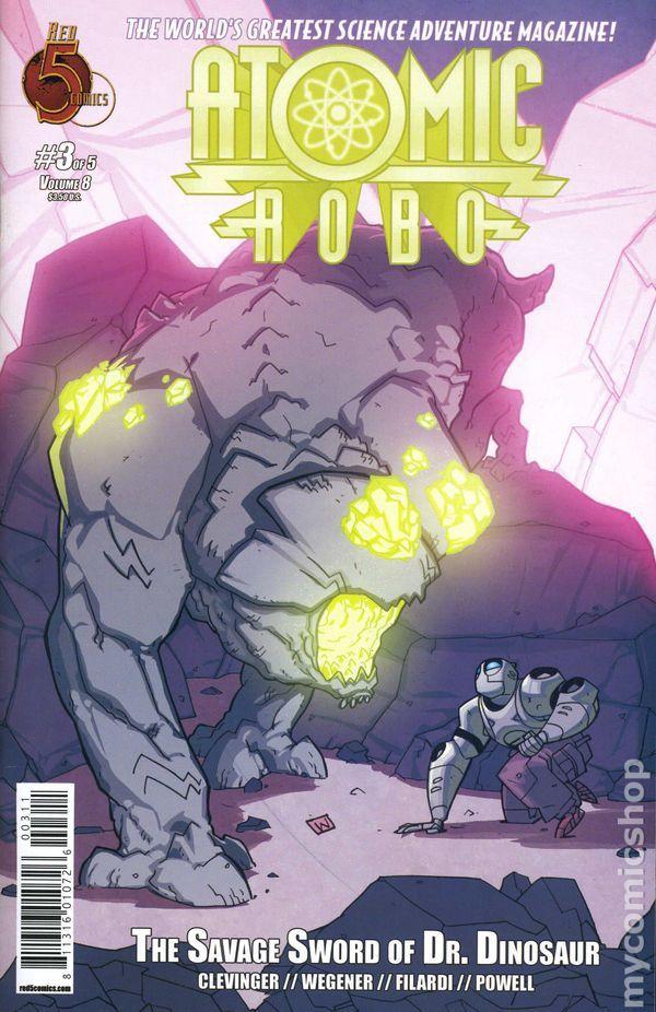 Atomic Robo and the Savage Sword of Dr. Dinosaur (2013) 3