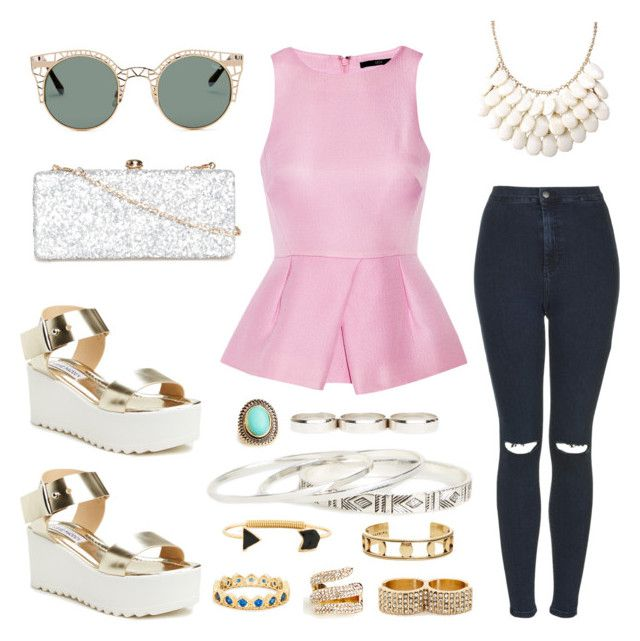 Statement Accessories by creaturesoftweed on Polyvore featuring polyvore fashion style TIBI Topshop Steve Madden Deux Lux DailyLook Jenny Bird Quay clothing runway outfit town casually pizzazz
