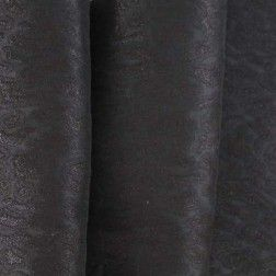 New York Designer Stretch Brocade – Black/Metallic