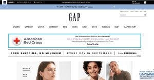 GAP - www.gap.com | Shop Women, Men, Maternity Clothes Online | Baby & Kids Clothes Online - TechSog