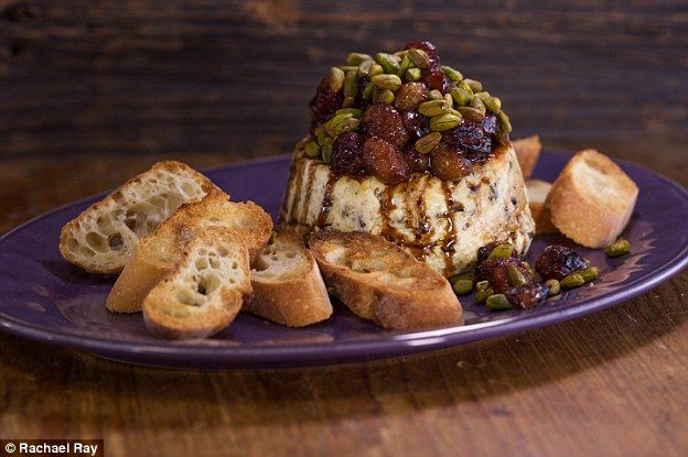 Holiday menu: The cookbook author said she loves to serve baked risotto with grapes and ba...