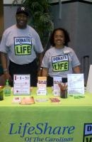 Bobby Height, Sr. and his wife, Brenda, serve as volunteers with LifeShare Of The Carolinas and Donate Life North Carolina DMV Ambassadors.  Neither person ever expected to become involved in organ donation and transplantation until their world changed in 2003.