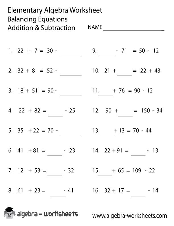 Worksheet Algebra 1 Worksheets Pdf 1000 ideas about algebra worksheets on pinterest addition subtraction elementary worksheet
