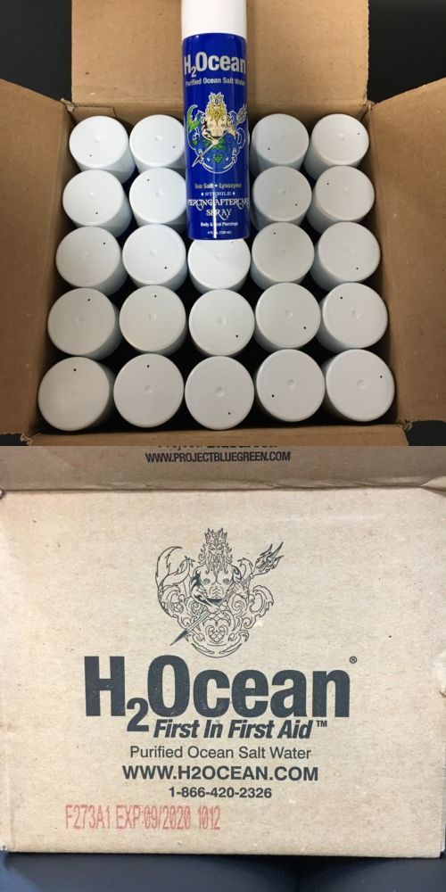 Piercing Supplies and Kits: H2ocean Piercing Aftercare Spray Tattoos Piercings Bodymod BUY IT NOW ONLY: $100.0