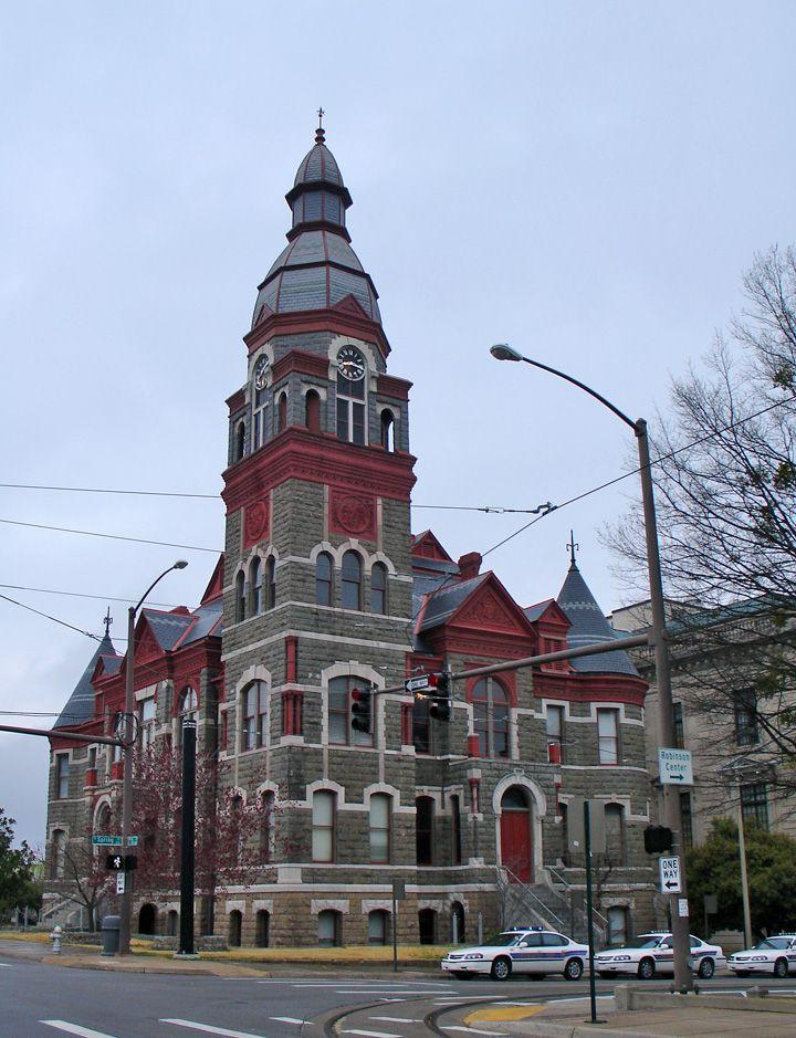 Pulaski County Courthouse, Little Rock, Arkansas (This is the old courthouse. A newer courthouse is attached.)