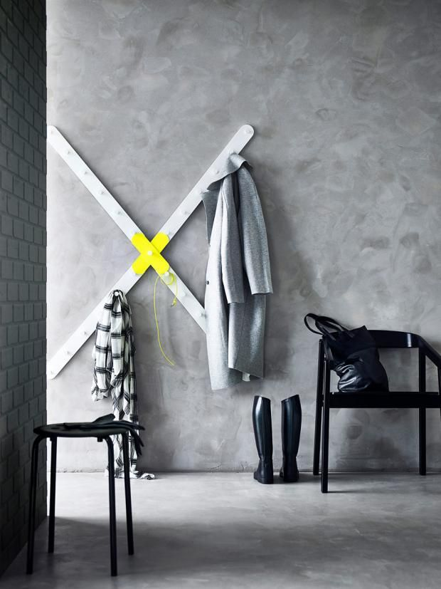 86 best Eingang images on Pinterest Home ideas, Mud rooms and Wood - trendfarben im esszimmer 2012