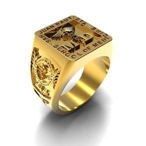 Men's Custom Signet Ring by Tae Park