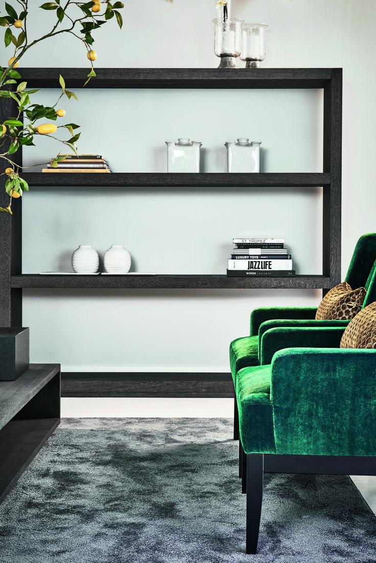Keijser&Co - Roomdivider Flex - Fauteuil Beaufort - Salontafel Kubus langwerpig