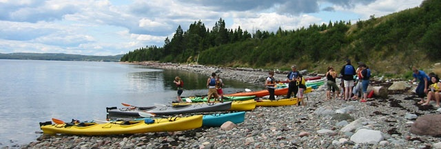 Eastern Outdoors - Sea Kayak Tours in New-Brunswick and Newfoundland