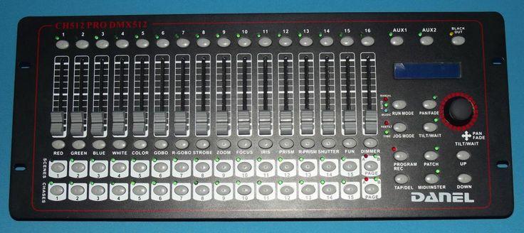 Danel DMX Master 512 USB controller