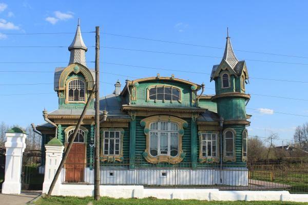 Gorokhovets, an ancient town in Vladimir region, Russia