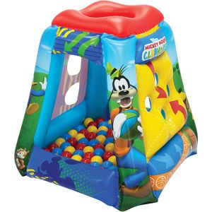 Disney Mickey Having-a-Ball Inflatable Ball Pit