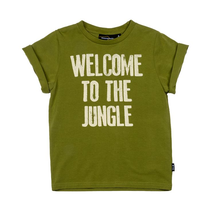 Rock Your Baby - Welcome To The Jungle T-Shirt