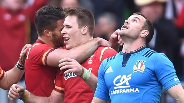 Six Nations 2017 Italy 7-33 Wales - BBC Sport