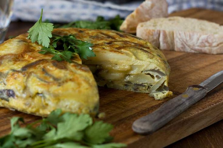 Made slowly and lovingly, and with just potatoes, onions and eggs, a real Spanish omelette makes a delicious easy light lunch that's hard to beat!