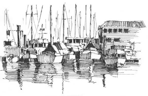 Inspired for #InkTober! Pen and ink drawing by Grant Fuller | ArtistsNetwork.com #drawing #sketching #art