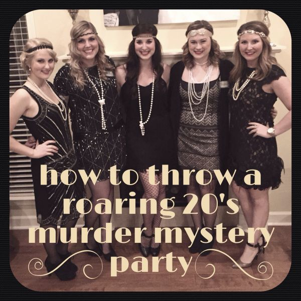 How to host a murder mystery party