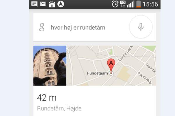 google på dansk