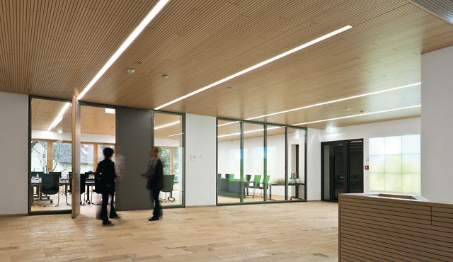 Éclairage à LED pour le bureau - Zumtobel