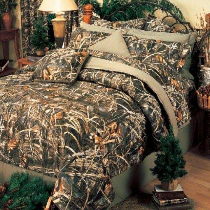 Camo Bed Spread