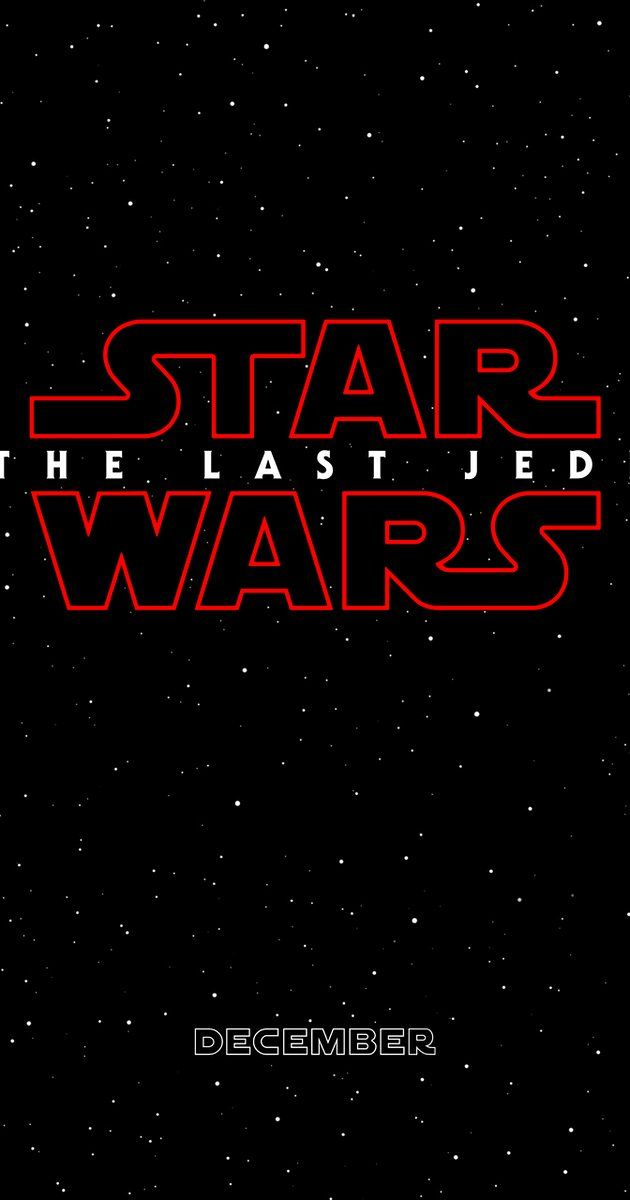 Directed by Rian Johnson. With Tom Hardy, Carrie Fisher, Daisy Ridley, Adam Driver. Having taken her first steps into a larger world in Star Wars: The Force Awakens (2015), Rey continues her epic journey with Finn, Poe and Luke Skywalker in the next chapter of the saga.