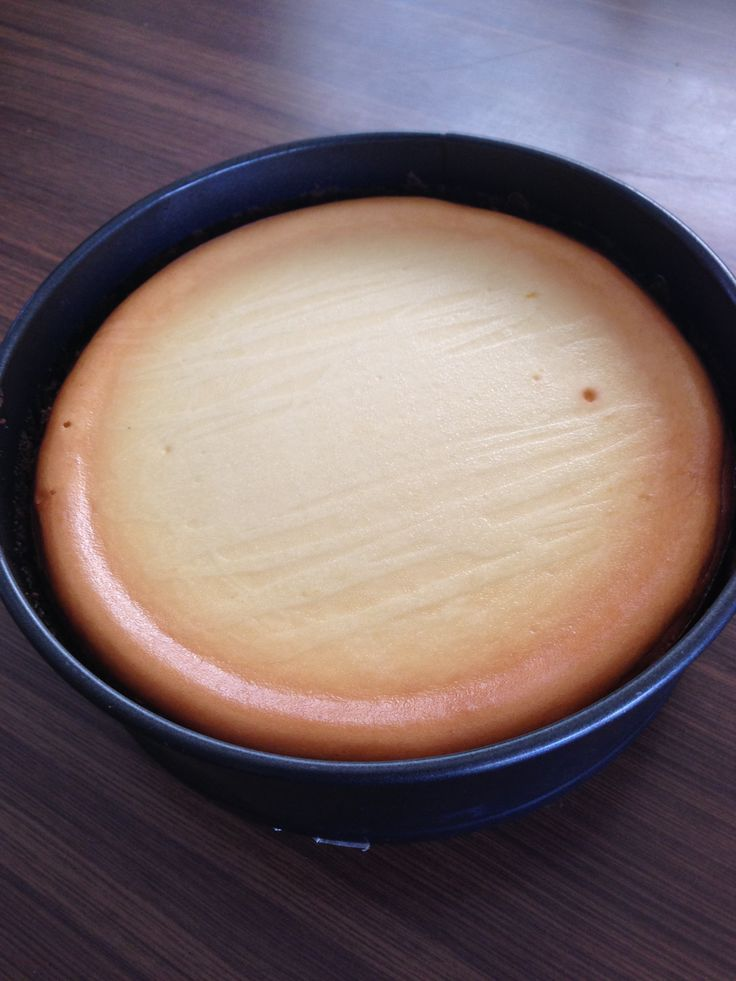 New York Baked Cheesecake Thermomix