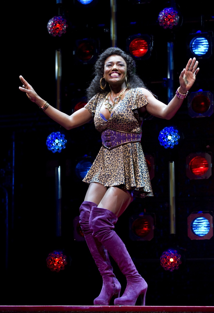 Patina Miller in sister act - she's also crazy good in the re vamp of Pippin (not that I've seen it being all UK bound)