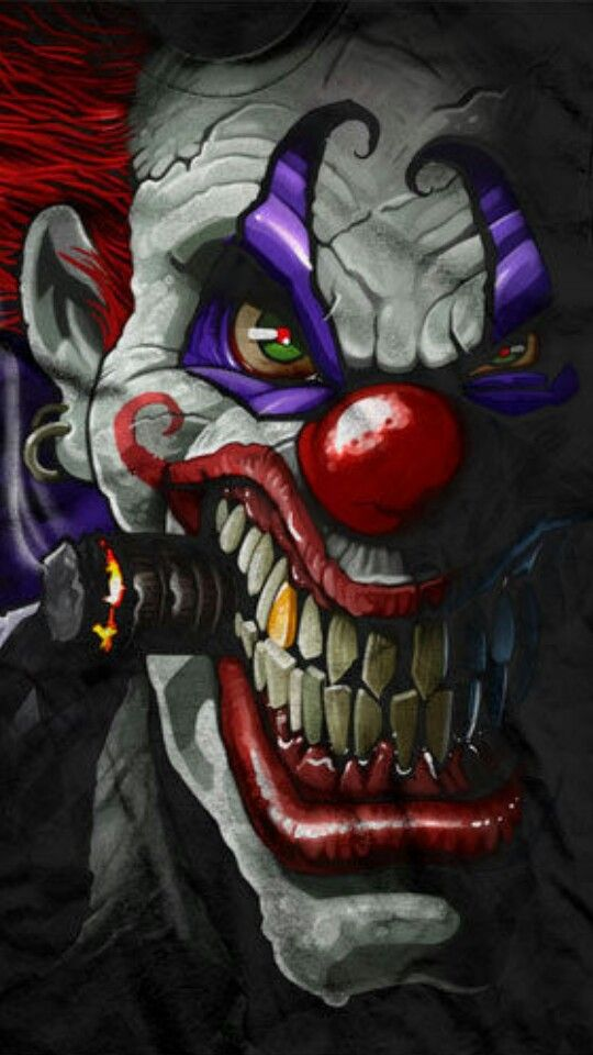 Airbrush Joker Wallpaper: Pin By Smiling Pinster On Bring In The Clowns