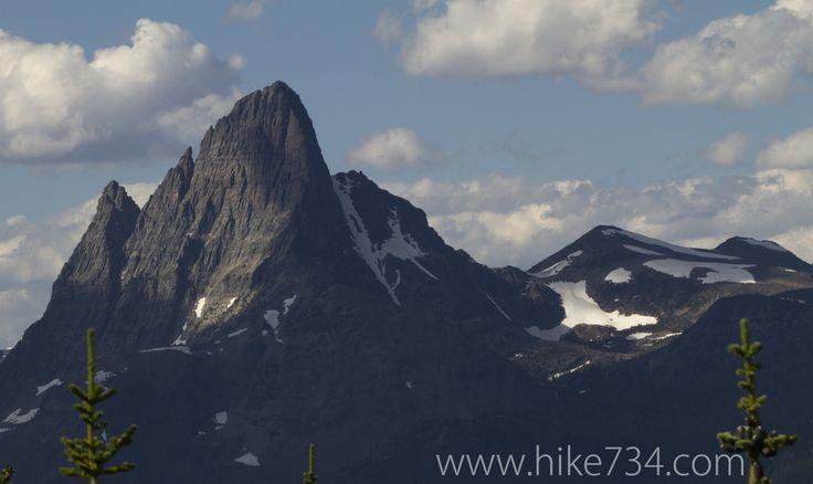 Mt. St. Nicholas in Glacier National Park. Scalplock Lookout video blog and trail description. Hiking in Glacier National Park with Hike 734.
