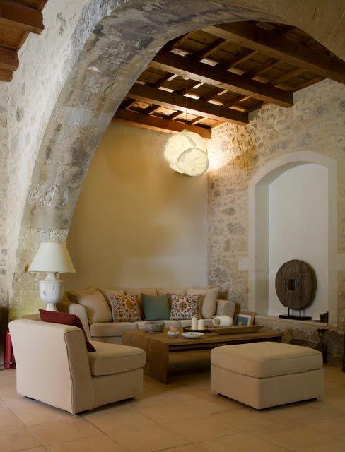 kapsaliana village hotel rethymno accommodation apartments to rent crete arkadi monastery traditional - Traditional Hotel Interior