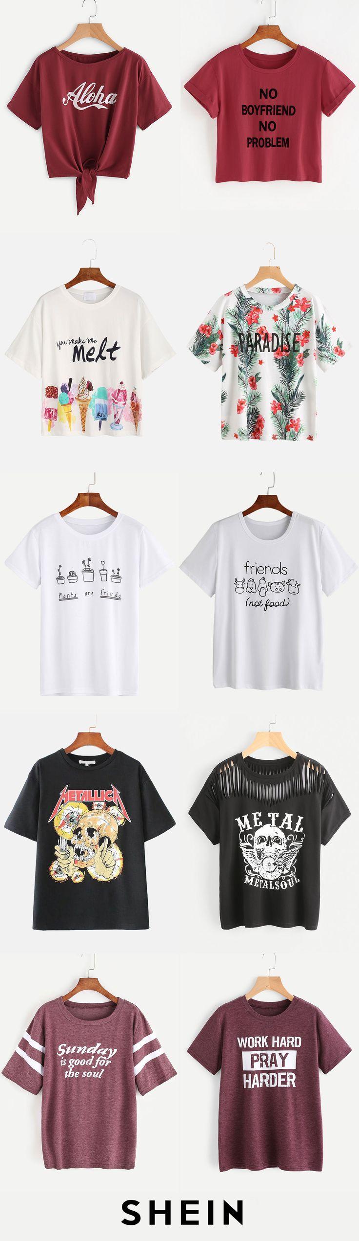 Slogan T-shirts
