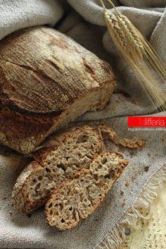 Pane integrale senza impasto
