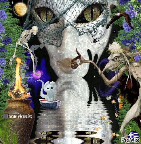 a fairy tale 2 , un conte de fées original backgrounds, painting,digital art by tonydanis