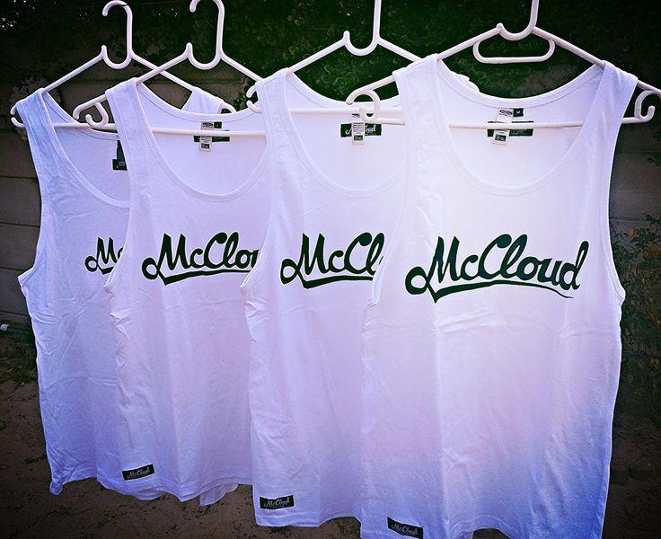 McCloud White vests @R120