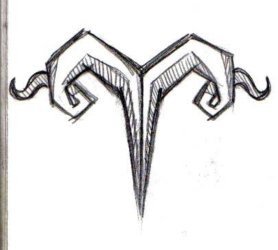 aries  Zodiac   Tattoo by symbolofsoul.deviantart.com on @deviantART