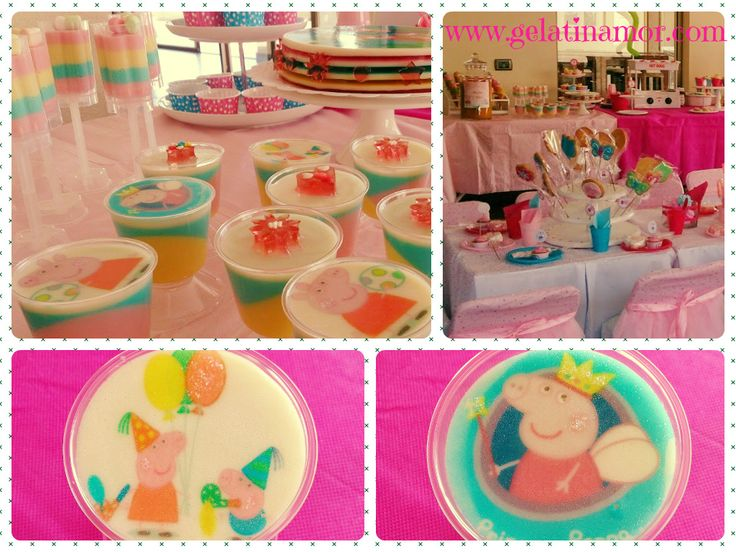 Peppa Pig y las gelatinas!