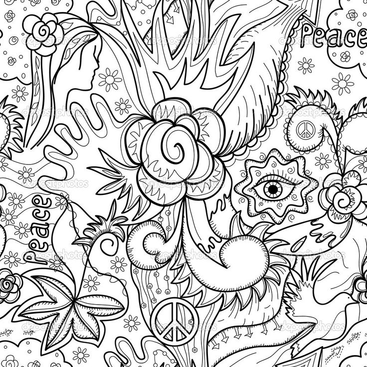 abstract pattern coloring pages - Printable Abstract Coloring Pages