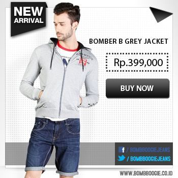 Buat kamu yang suka jaket.Ada New Arrival nih dari kami. Tertarik?Klik aja: www.bombboogie.co.id