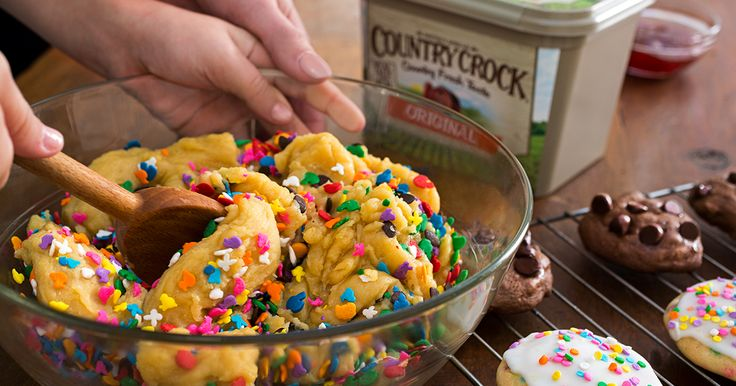 It's time to mix things up with one easy cookie dough recipe—just add mix-ins…