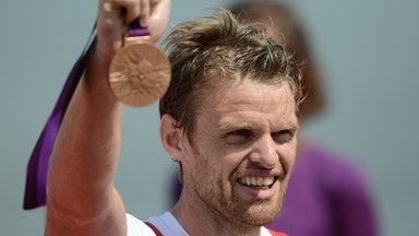Alan Campbell - Bronze Medal - Men's Rowing Single Scull