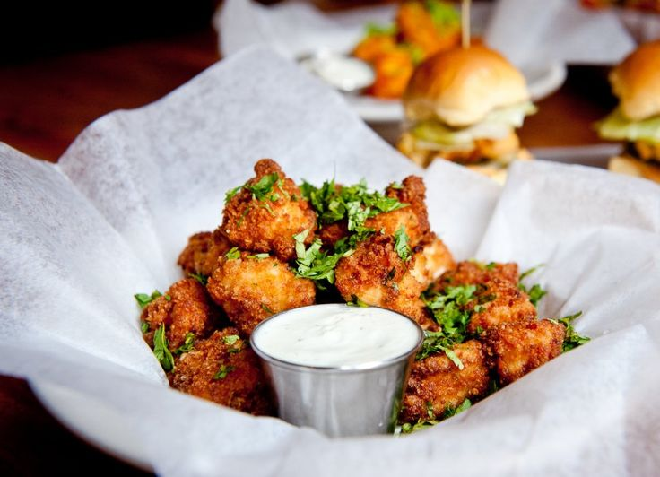 Chef Marc Murphy's Chipotle Popcorn Chicken Recipe - a perfect and sure-fire crowd pleaser.
